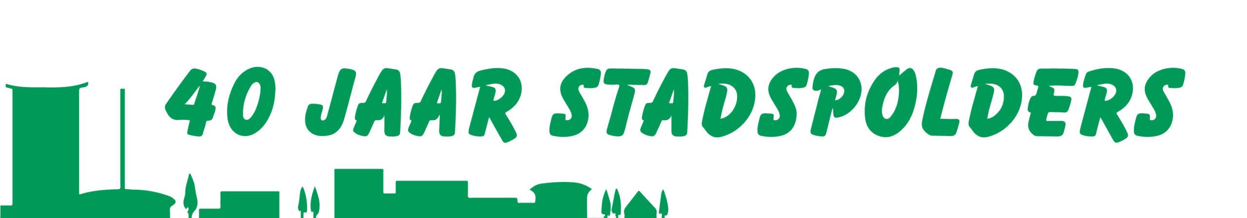 Logo 40 jaar Stadspolders