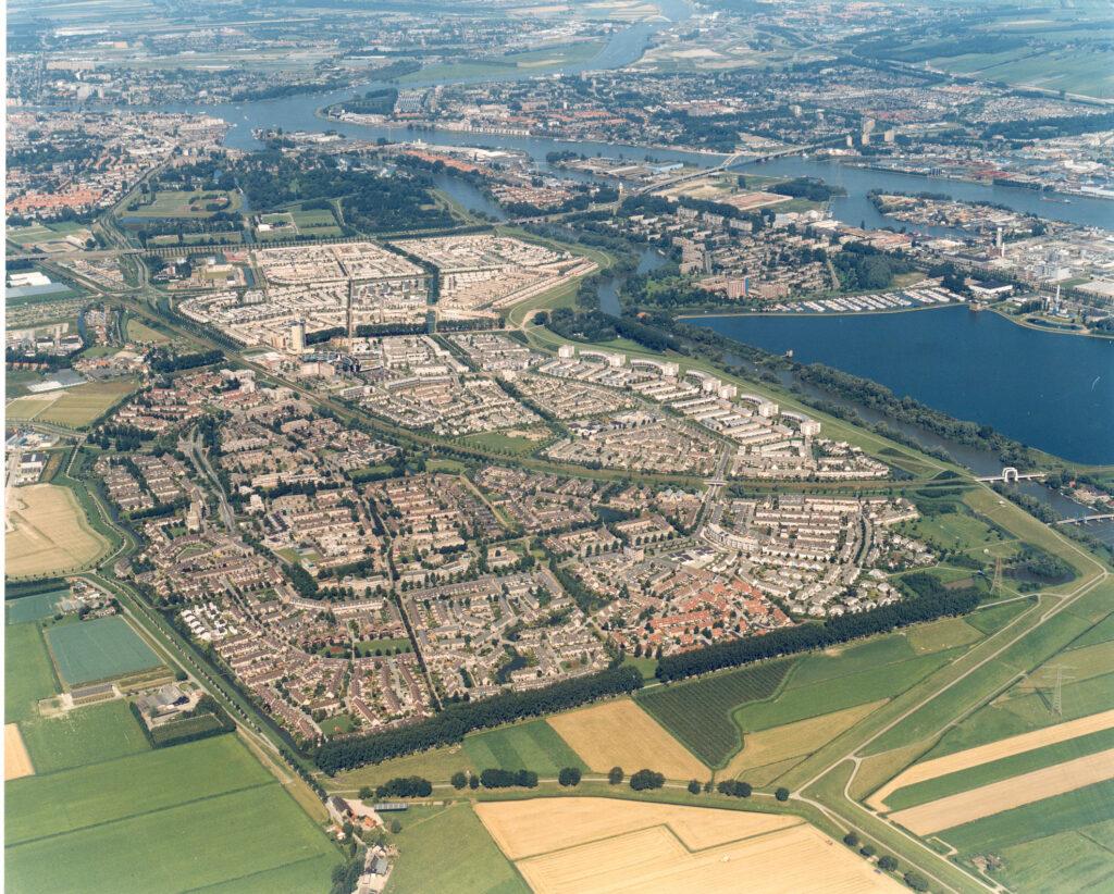 Luchtfoto Stadspolders 1995