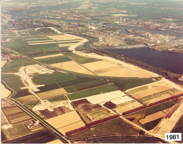Luchtfoto 1981