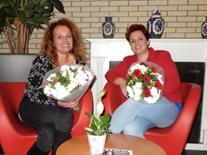 Annemiek en Bianca