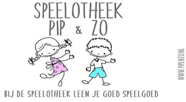 Logo Speelotheek Pip & Zo