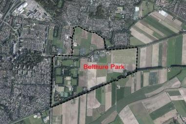 Kaart locatie Belthure Park