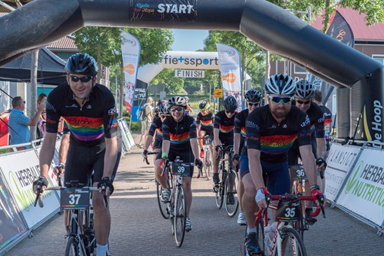 Fietswedstrijd Cycle for Hope